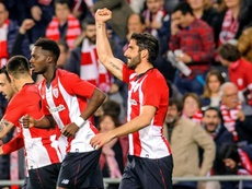 El Athletic ganó 1-0. EFE