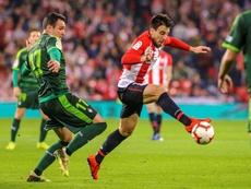 Beñat se perderá el partido contra el Atlético. EFE