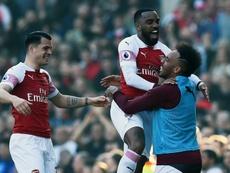 El Arsenal ya piensa en el mercado estival. EFE/EPA