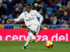 Vinicius will not return against Getafe. EFE/Archivo