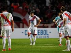 Los jugadores de Nacional de Potosí amenazan con ir a la huelga. EFE