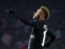 Elogios a Neymar. EFE
