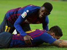 L'exemple de Messi que Suárez et Dembélé n'ont pas suivi. EFE