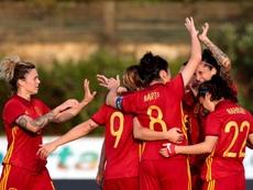 'La Roja', ante Canadá sin las jugadoras del Barcelona. EFE