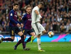 O Real caiu em casa perante um Suárez endiabrado. EFE