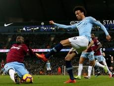 City e West Ham se enfrentarão em 19 de fevereiro. EFE