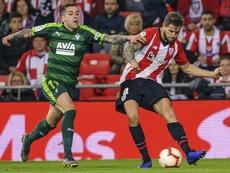 Íñigo Martínez e Ibai Gómez entran en una lista sin Balenziaga. EFE/Archivo