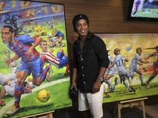 El ocaso de Ronaldinho. EFE