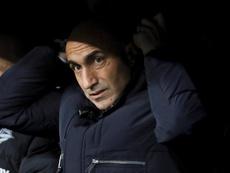 Abelardo mostró su decepción por el empate. EFE/Archivo