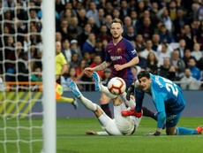 El Barça, beneficiado por los horarios antes del 'Clásico'. EFE