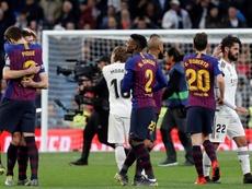 'Marca': LaLiga propone que el 'Clásico' se juegue el 7 de diciembre. EFE