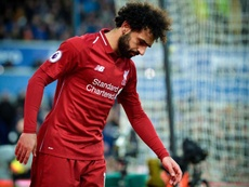 Mohamed Salah has struggled to replicate the form of last season. EFE/APA