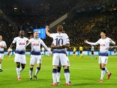 Al Tottenham solo le queda la Champions. EFE