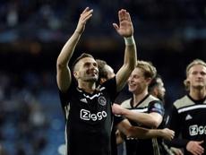 Dusan Tadic a fait un appel du pied au Real. EFE