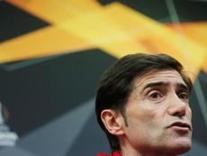 Marcelino alabó el esfuerzo de sus jugadores. EFE