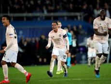 El United tendrá ocho días de descanso para preparar la Champions. EFE