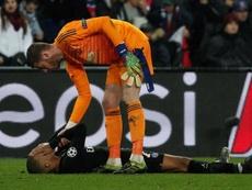El PSG volvió a caer un año más en octavos de final. EFE