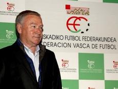 Clemente espera un gran apoyo a la Selección en Bilbao. EFE