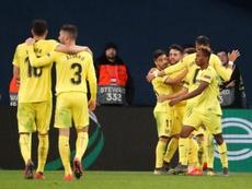 El Villarreal tiene pie y medio en cuartos de final. EFE