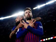 Piqué pasa revista: Valverde, Messi , Cristiano, De Ligt, Griezmann... EFE