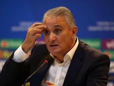 Tite habló tras el empate ante Panamá. EFE/Archivo