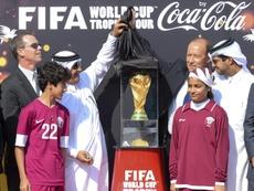 El Mundial de 2022 se jugará en Catar. EFE