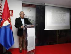 Sabalza destacó el trabajo y la humildad de Osasuna. EFE/Archivo