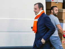 Sandro Rosell volvería a fichar a Neymar. EFE