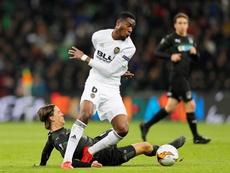 Kondogbia veut rester à Valence. EFE