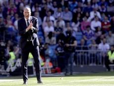 Zidane su Isco, Marcelo e Navas. EFE