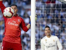 Navas sent out a message to his critics. EFE
