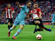El Atlético quiere que Yeray sea su nuevo Godín. EFE