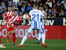 El Girona y el Leganés subieron cinco puestos en la clasificación histórica. EFE