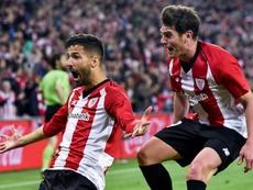 El Athletic no contará con Aduriz ante el Levante. EFE