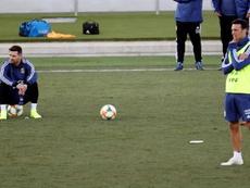 Messi, convocado para jugar con Argentina. EFE