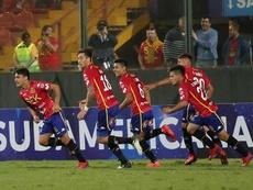 Unión Española no pasó del empate. EFE