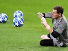 Casillas jugará hasta los 40 en el Oporto. EFE/Archvio