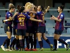 El Barça goleó 3-0 en la ida de cuartos. EFE