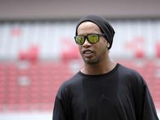 La ex mujer de Ronaldinho le acusó de agresión. EFE/Archivo