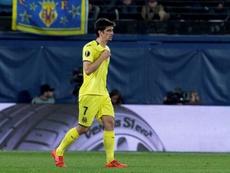 Gerard Moreno es duda para recibir al Espanyol. EFE/Archivo