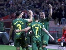 Las Palmas sólo ha ganado tres veces en Albacete. EFE/Archivo