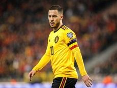 Hazard está convenciendo con Bélgica. EFE