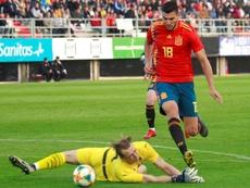 Rafa Mir podría volver a España. EFE