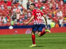 Borja volvió a pisar el césped ocho meses después. EFE