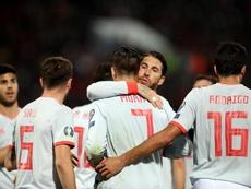 Espanha venceu Malta com dois golos de Morata. EFE
