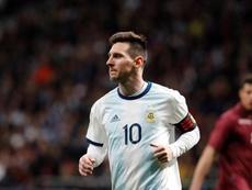 Leo Messi a bien été appelé par Lionel Scaloni. EFE/Archive