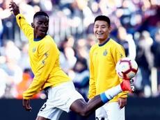 Wu Lei veut jouer les préliminaires de l'Europa League. EFE
