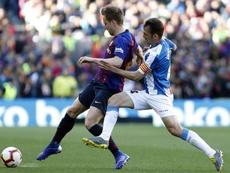 Rakitic a fait un grand match contre l'Espanyol. EFE