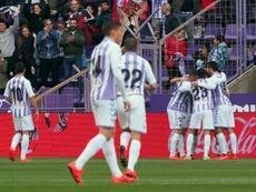 El Valladolid sufrió para doblegar al Girona por la mínima, EFE/Archivo