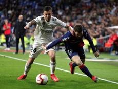 Ceballos ha perdido protagonismo con Zidane. EFE